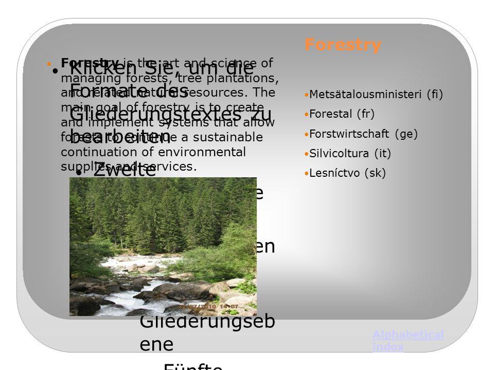 Klicken Sie, um die Formate des Gliederungstextes zu bearbeiten Zweite Gliederungsebene  Dritte Gliederungseben e Vierte Gliederungseb ene  Fünfte G