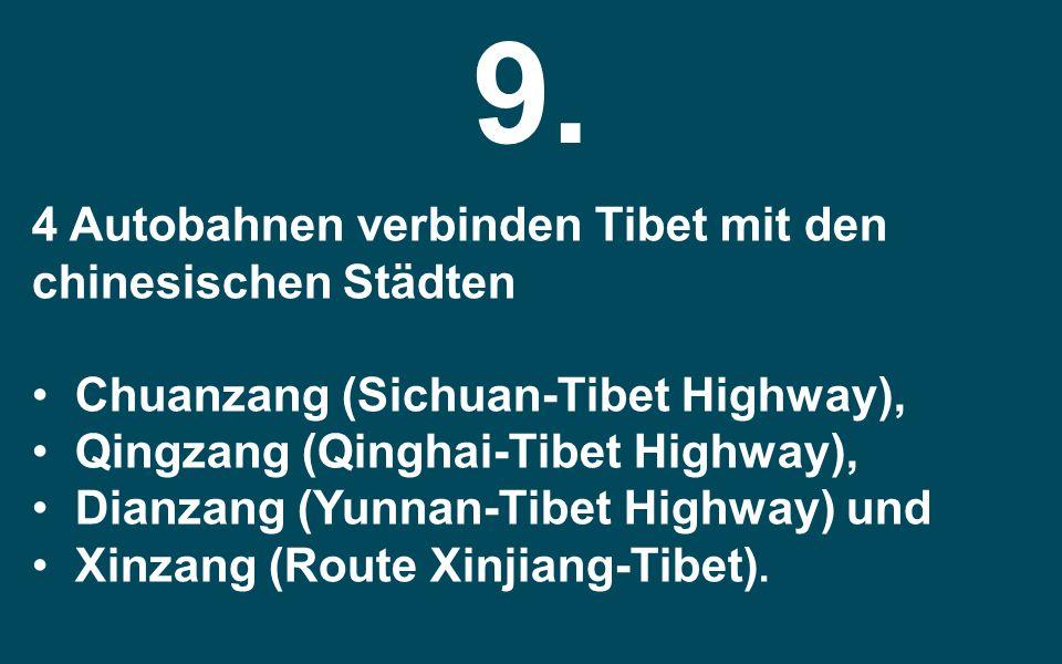 Der Tarim Desert Highway ist nur eingeschränkt durch natürliche Vegetation geschützt. In diesem Straßenabschnitt werden die Sanddünen durch Stroh gege