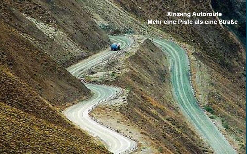 Xinzang Autoroute Xinjiang -Tibet Highway No 219, National Highway Trunk, beginnt im Gebiet von Yecheng, Provinz Xinjiang, und sie endet in Lhasa. Die