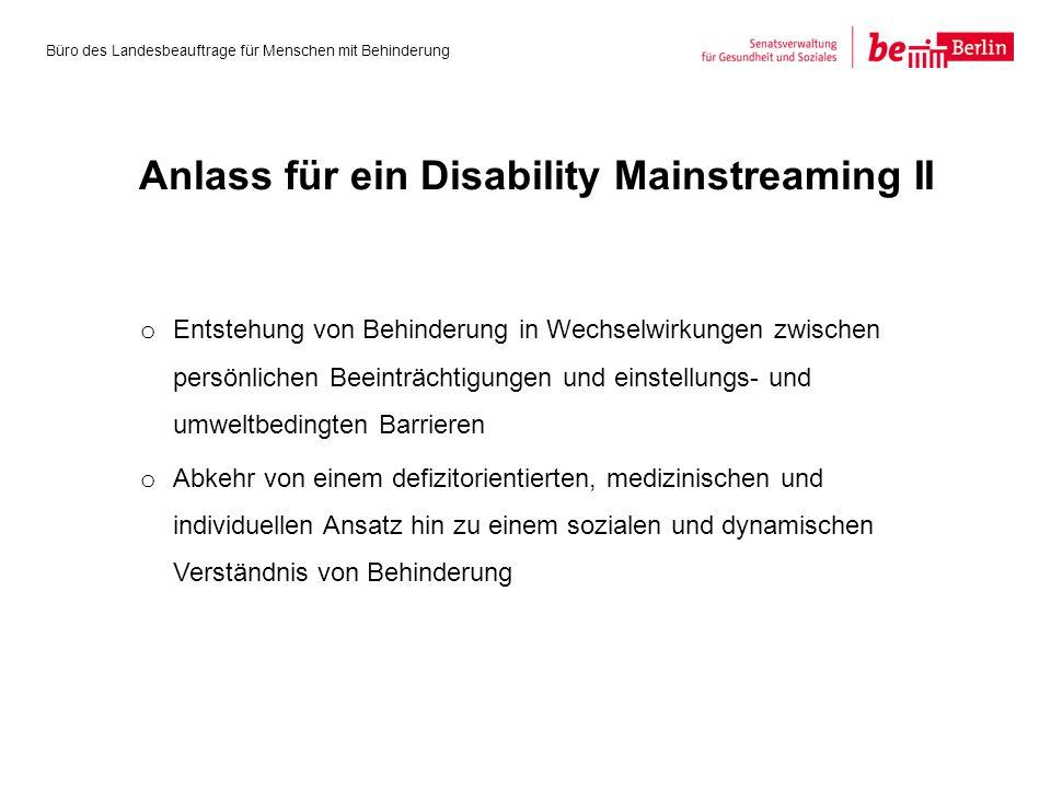 o Entstehung von Behinderung in Wechselwirkungen zwischen persönlichen Beeinträchtigungen und einstellungs- und umweltbedingten Barrieren o Abkehr von