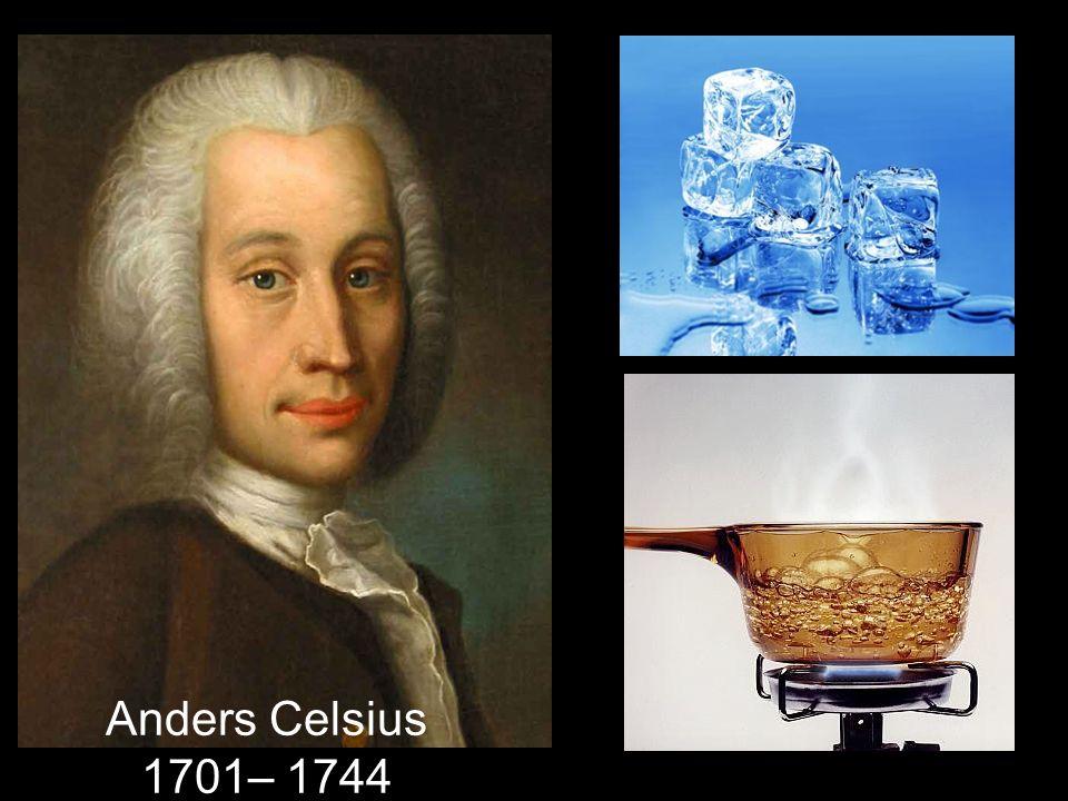 Anders Celsius 1701– 1744
