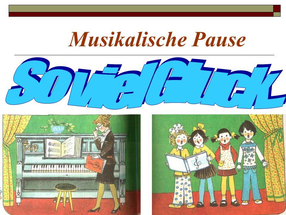 Musikalische Pause