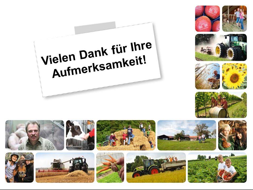 Deutscher Bauernverband Vielen Dank für Ihre Aufmerksamkeit!