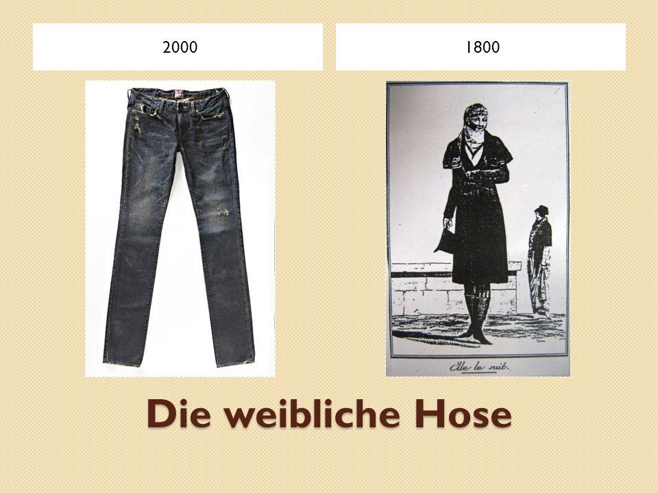 Die weibliche Hose 20001800