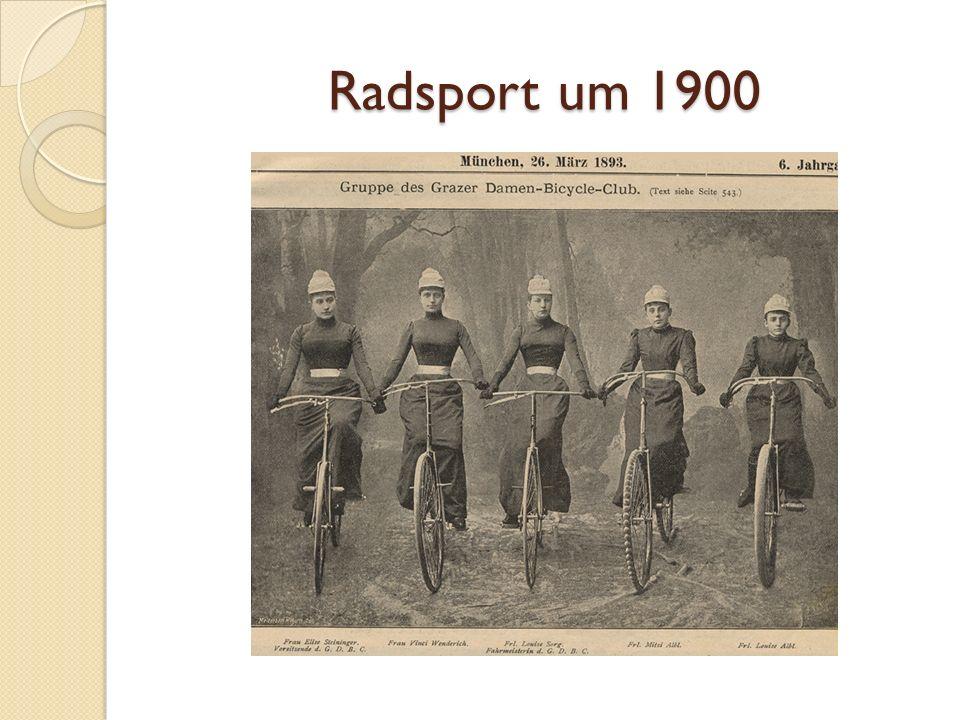 Radsport um 1900
