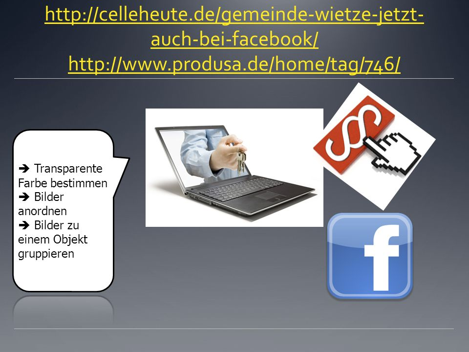 http://celleheute.de/gemeinde-wietze-jetzt- auch-bei-facebook/ http://www.produsa.de/home/tag/746/