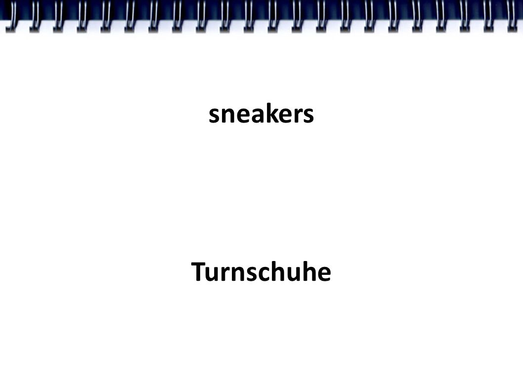 sneakers Turnschuhe