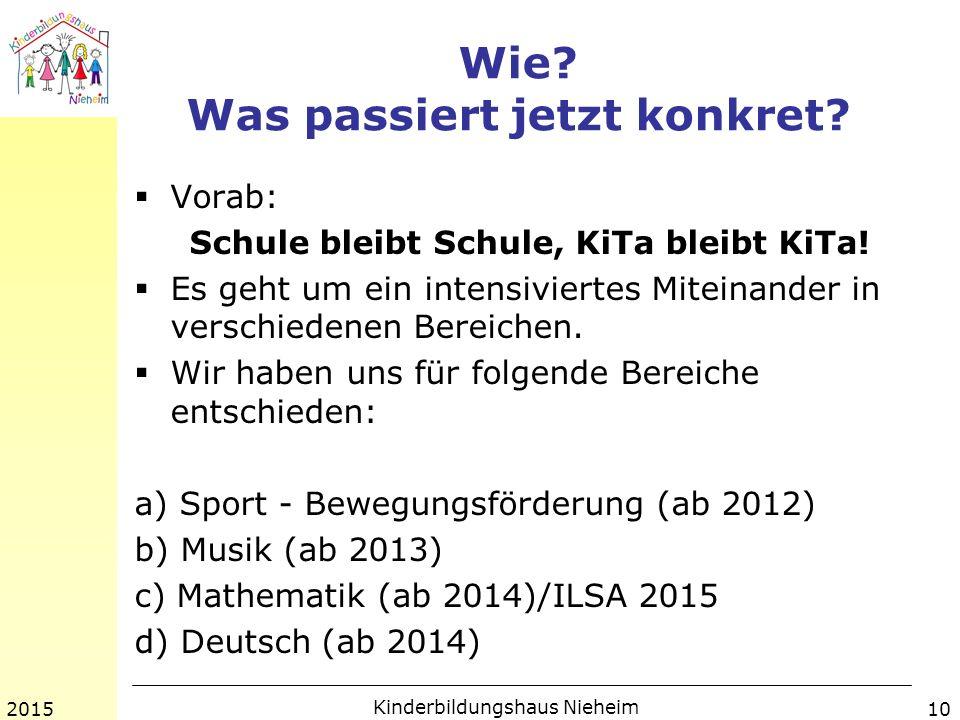 Wie. Was passiert jetzt konkret.  Vorab: Schule bleibt Schule, KiTa bleibt KiTa.