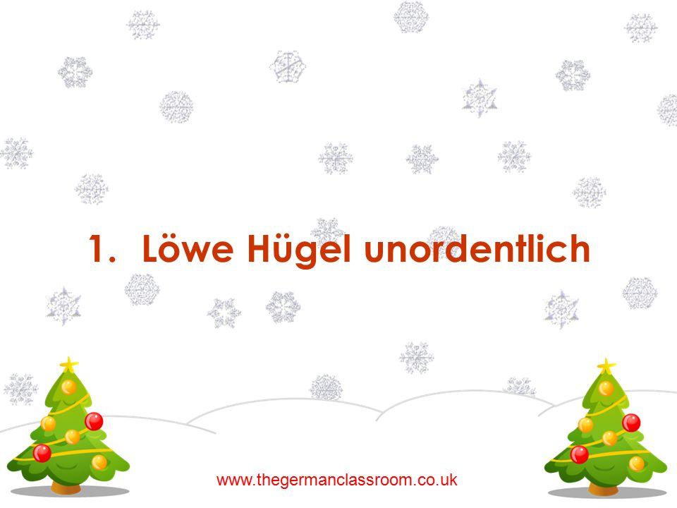 1.Löwe Hügel unordentlich www.thegermanclassroom.co.uk