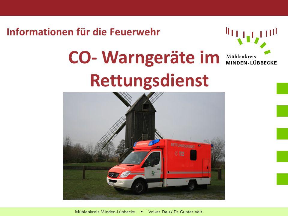 Leitfaden PowerPoint-Präsentationen Mühlenkreis Minden-Lübbecke Mühlenkreis Minden-Lübbecke  Volker Dau / Dr. Gunter Veit Informationen für die Feuer