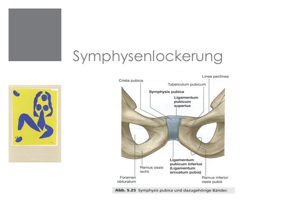 Symphysenlockerung