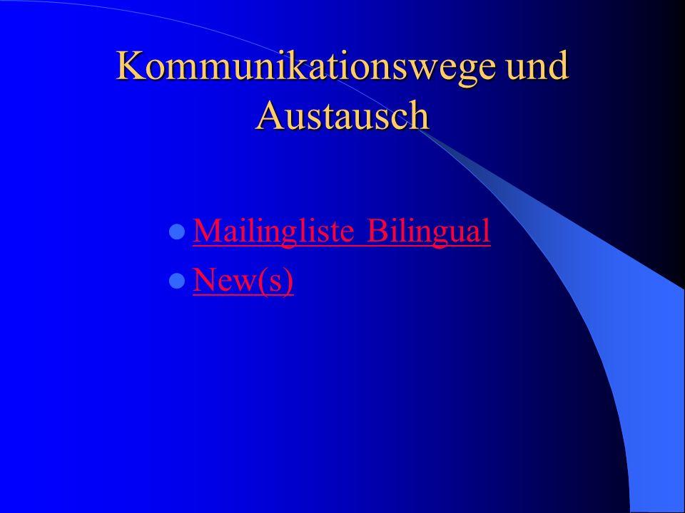 Anregungen für die Schulentwicklung Einrichtung bilingualer Angebote Einrichtung bilingualer Angebote Argumente für Kollegen, Eltern Argumente für Kol