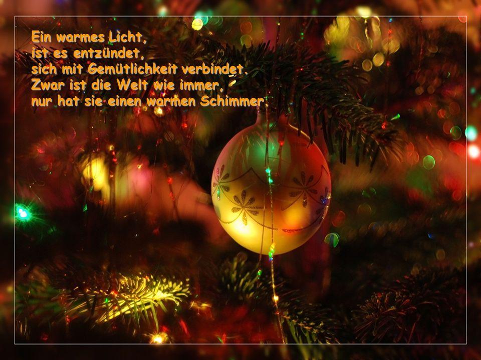 Vorfreude auf festliche Tage, voraus eilende Gedanken, heimliches Warten und Hoffen, Sehnsucht nach Stille und Tiefe, nach Innerlichkeit: Advent!