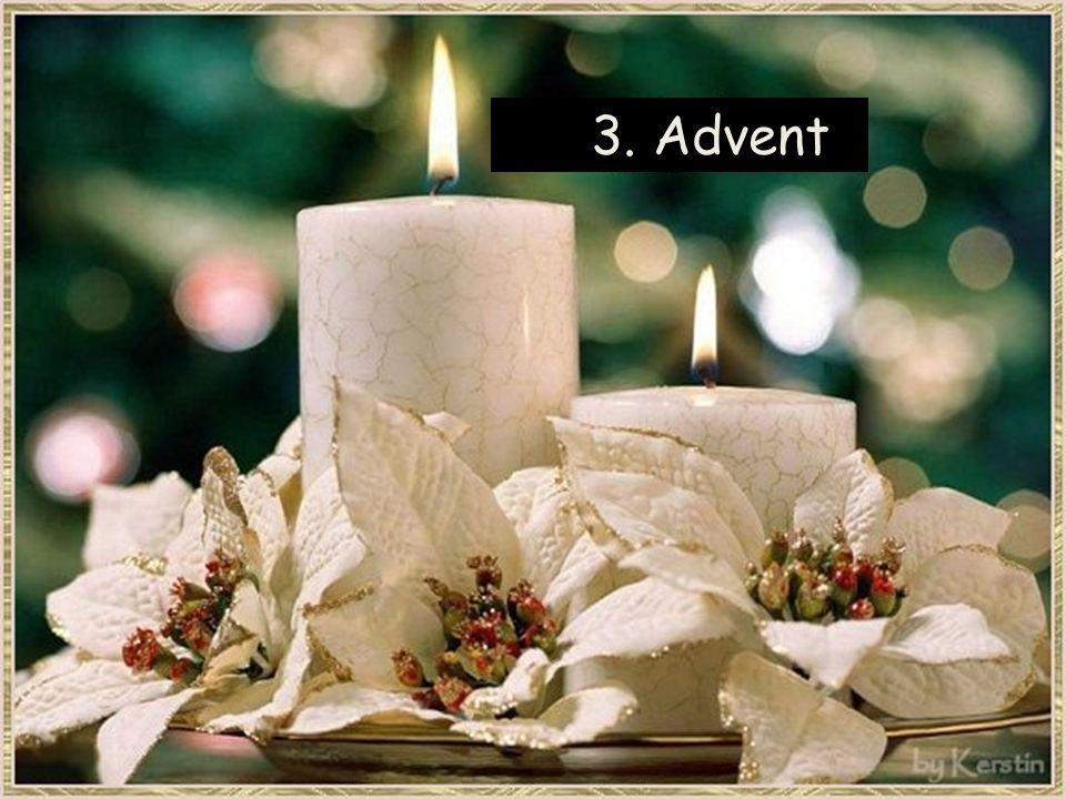 Advent ist, wenn Kinderaugen wieder zu strahlen beginnen und wir uns anstecken lassen von der Vorfreude auf Weihnachten.