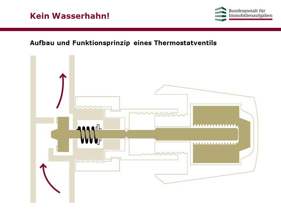 Kein Wasserhahn! Aufbau und Funktionsprinzip eines Thermostatventils