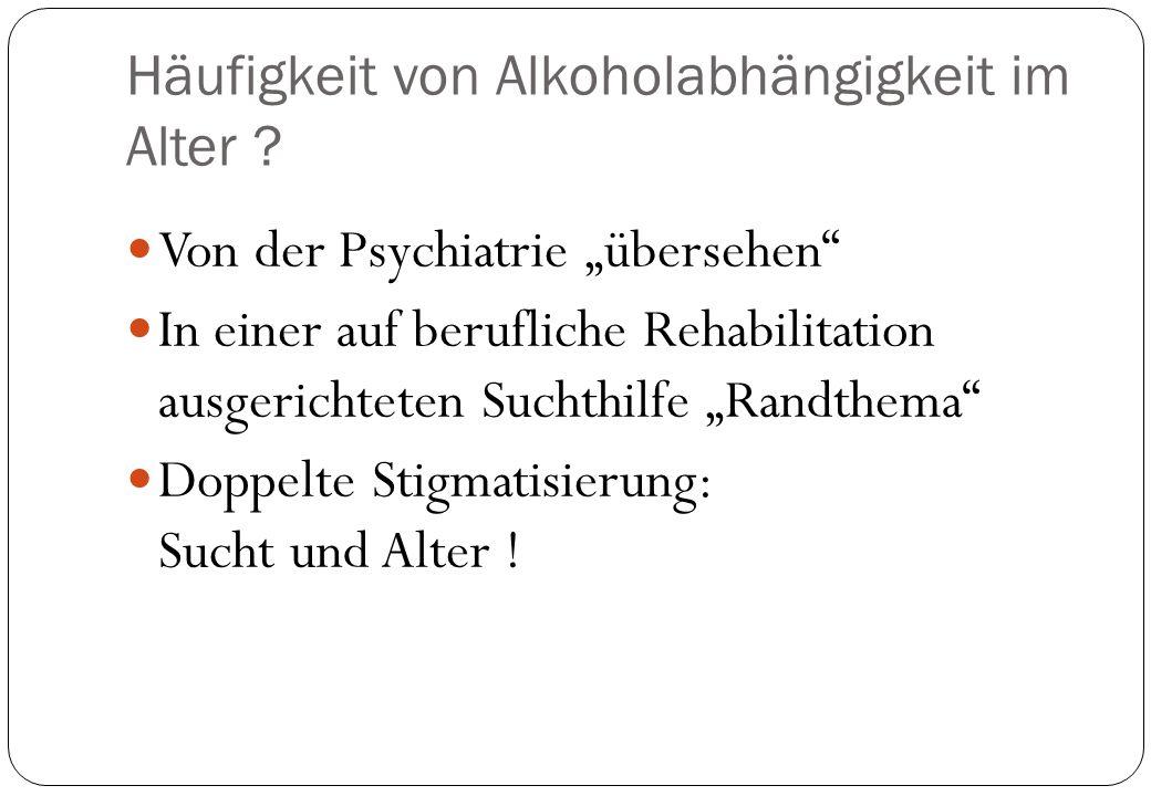 ALTER Hoc h Alter Kristalline Intelligenz Kognition