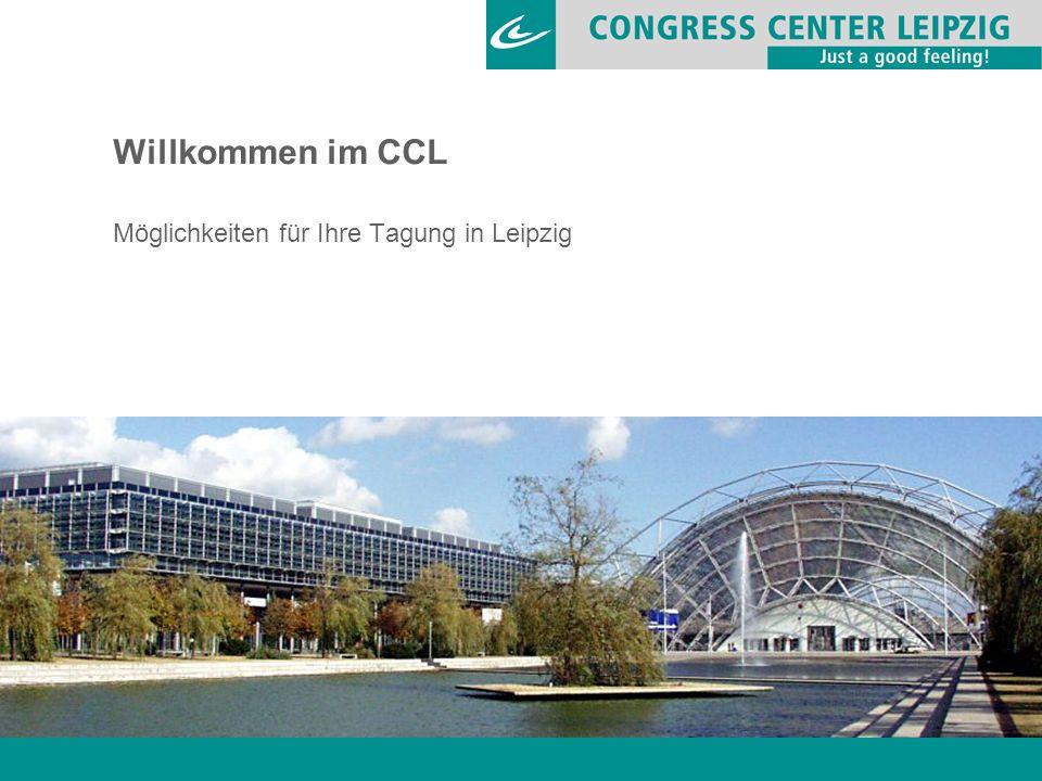 Willkommen im CCL Möglichkeiten für Ihre Tagung in Leipzig
