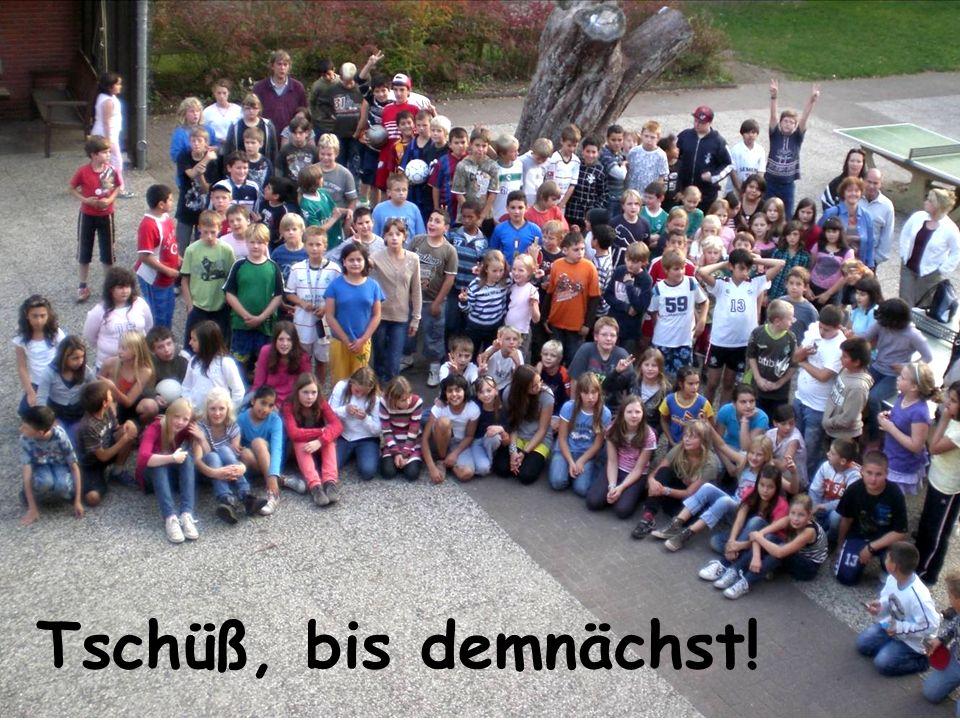 2014/ 2015 Tschüß, bis demnächst!