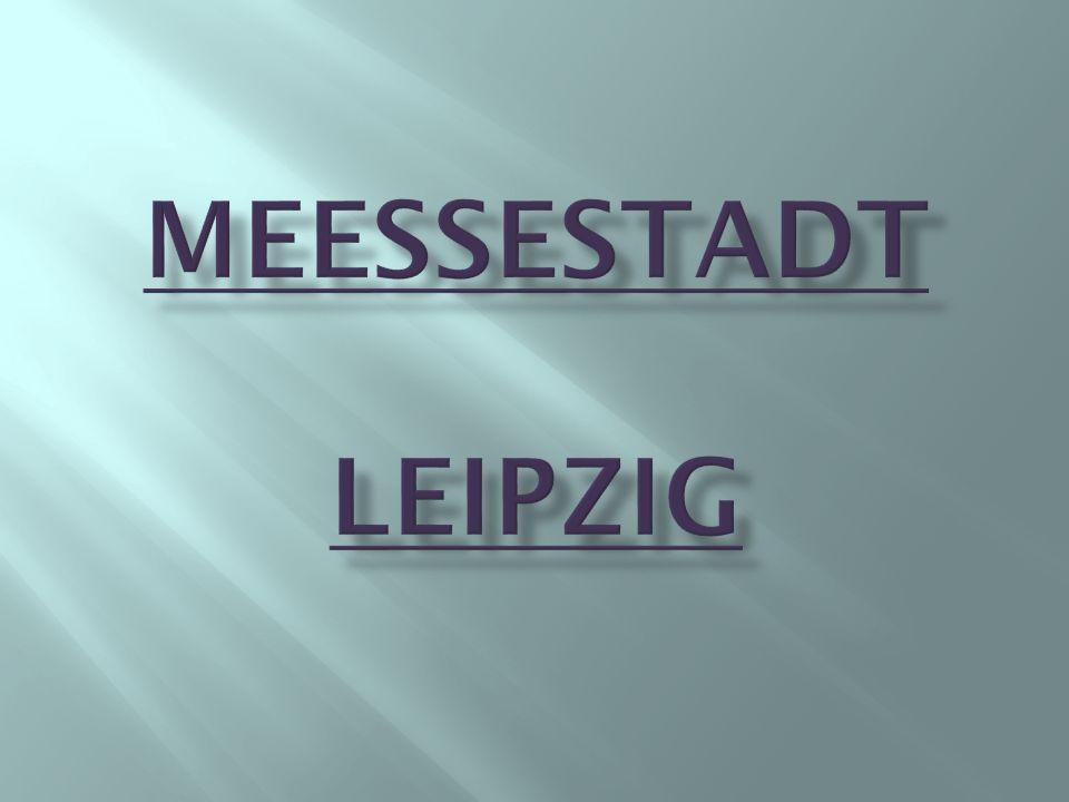 Die Leipziger Messe ist das Messe- und Ausstellungsgelände von Leipzig, das zu den ältesten Messestandorten der Welt zählt.