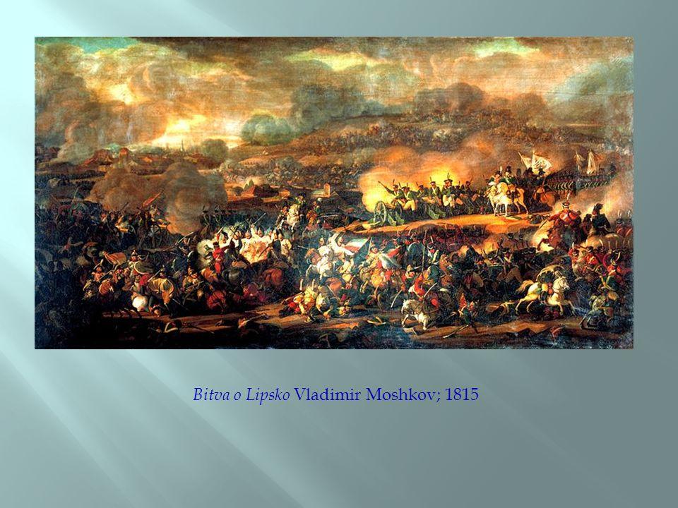 Bitva o Lipsko Vladimir Moshkov; 1815