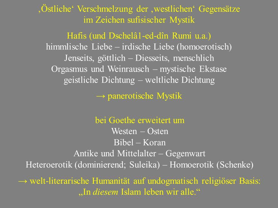 Friedrich Rückert August von Platen Georg Fr. Daumer
