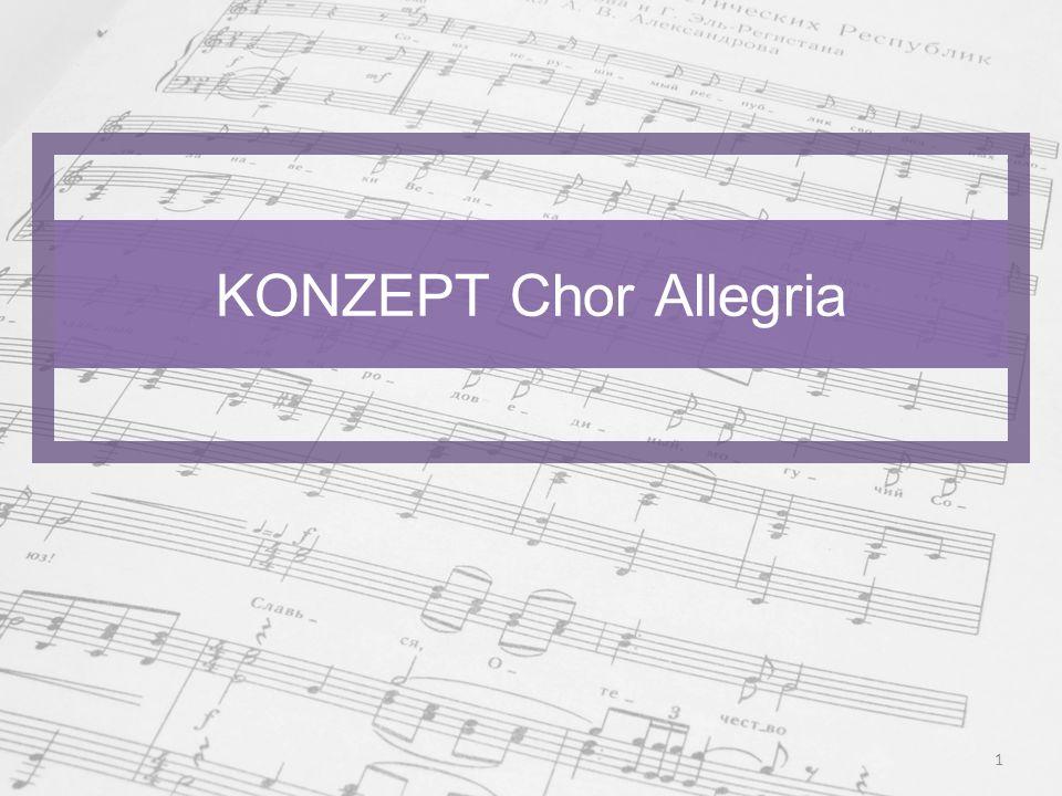 KONZEPT Chor Allegria 1