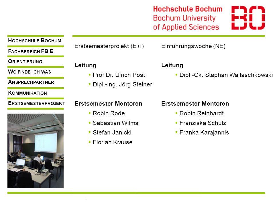FB E, Prof. Dr.-Ing.