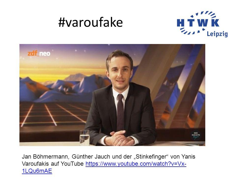 """#varoufake Jan Böhmermann, Günther Jauch und der """"Stinkefinger von Yanis Varoufakis auf YouTube https://www.youtube.com/watch?v=Vx- 1LQu6mAEhttps://www.youtube.com/watch?v=Vx- 1LQu6mAE"""