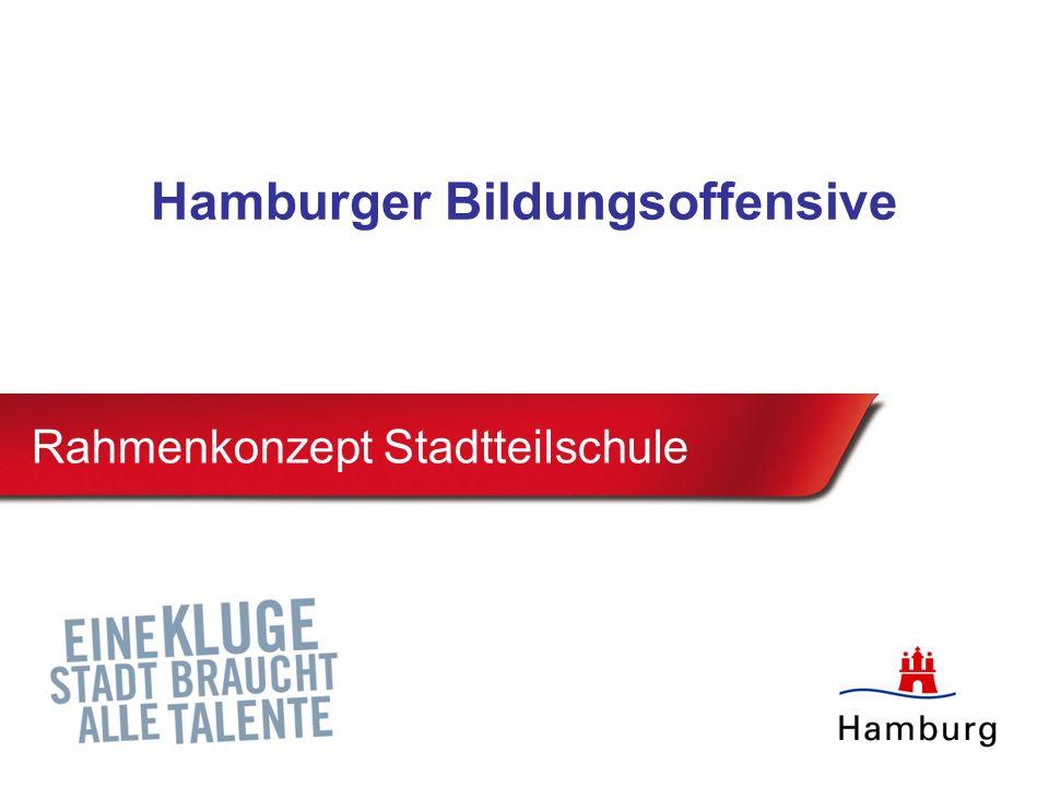 Rahmenkonzept Stadtteilschule Hamburger Bildungsoffensive