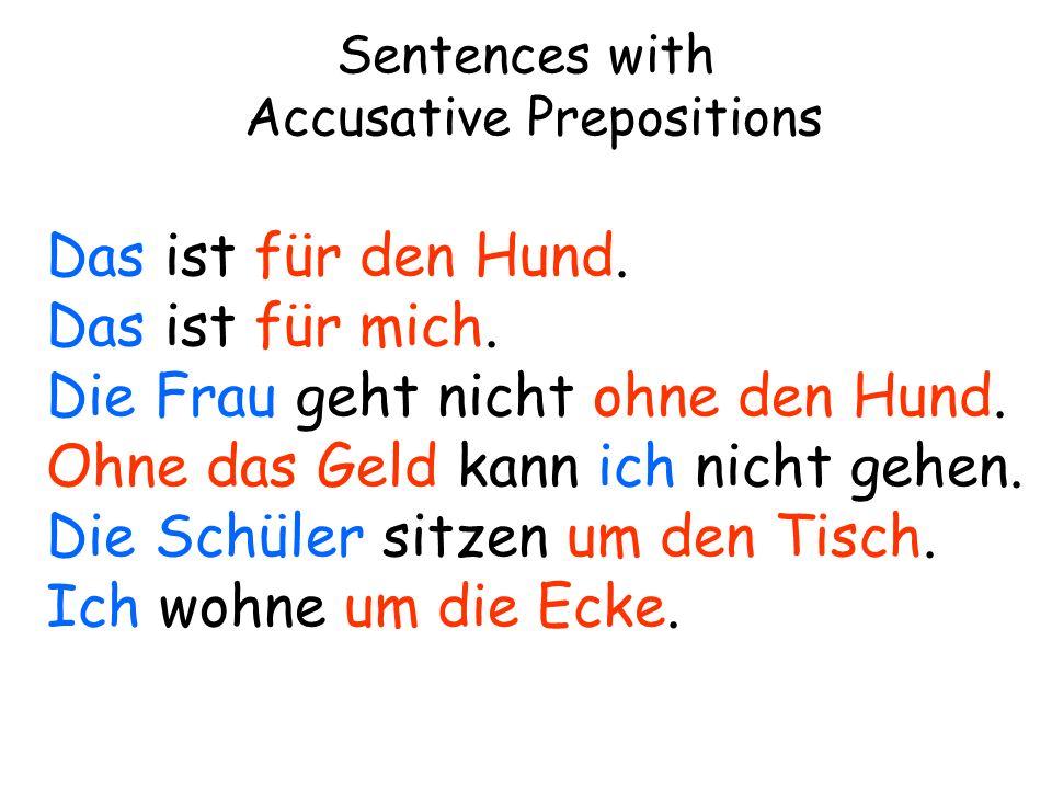 Sentences with Dative Verbs Das (gefällt) mir.Das Buch (gefällt) dem Schüler.