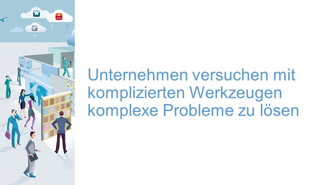© 2015 Citrix | Confidential Unternehmen versuchen mit komplizierten Werkzeugen komplexe Probleme zu lösen
