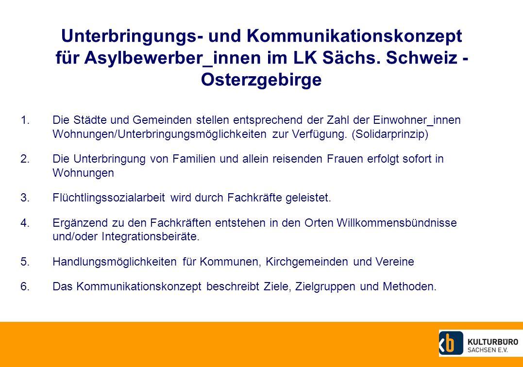 Unterbringungs- und Kommunikationskonzept für Asylbewerber_innen im LK Sächs.