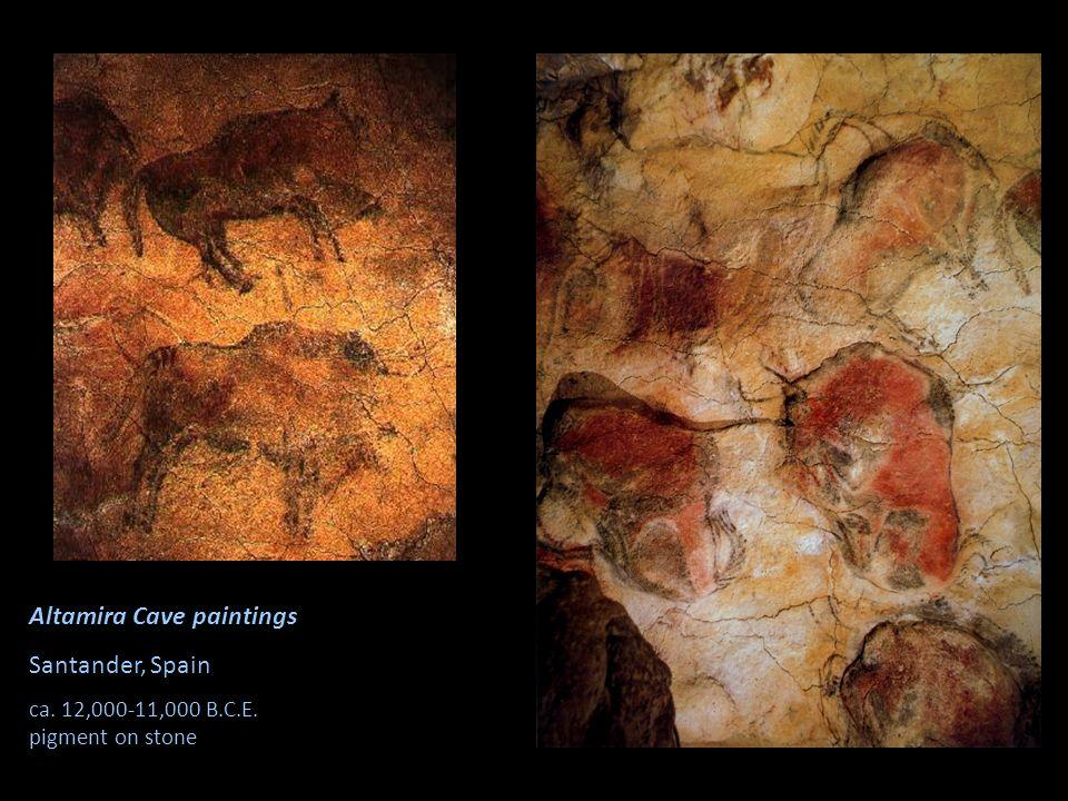 Altamira Cave paintings Santander, Spain ca. 12,000-11,000 B.C.E. pigment on stone