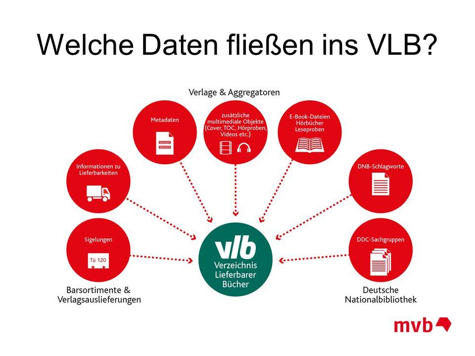 Welche Daten fließen ins VLB?