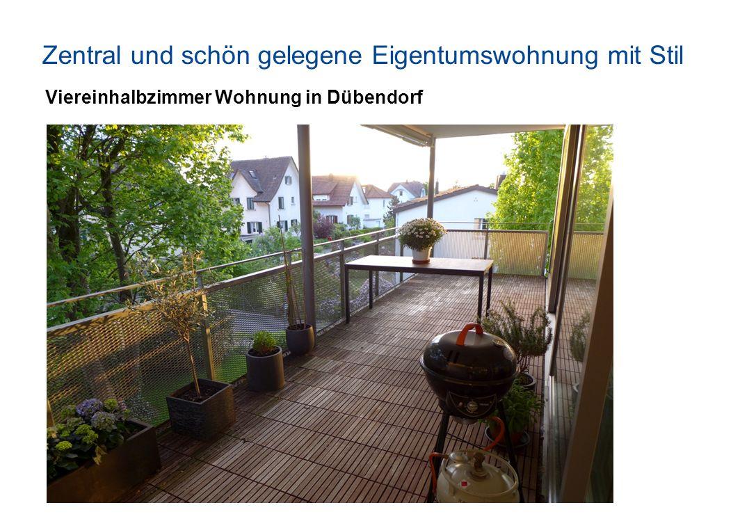 Zentral und schön gelegene Eigentumswohnung mit Stil Viereinhalbzimmer Wohnung in Dübendorf