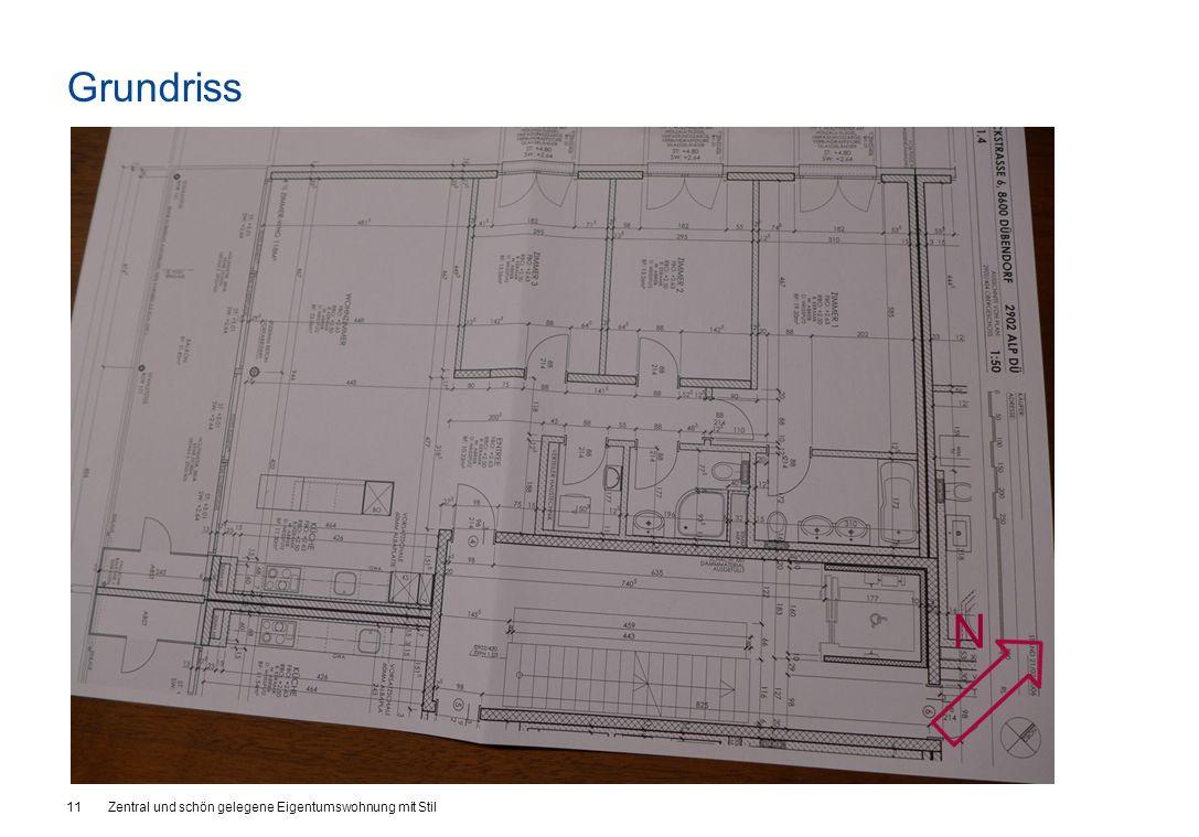 Grundriss 11Zentral und schön gelegene Eigentumswohnung mit Stil N