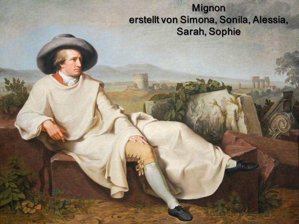 Mignon erstellt von Simona, Sonila, Alessia, Sarah, Sophie