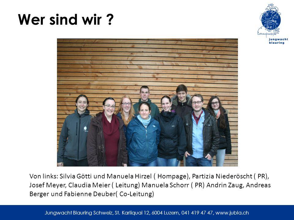 Jungwacht Blauring Schweiz, St.