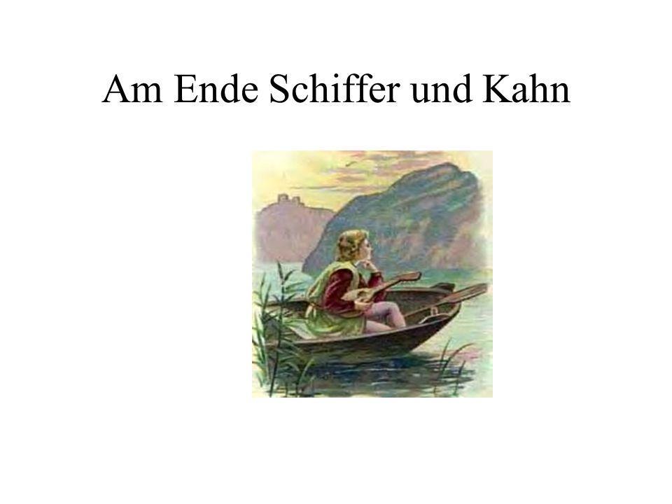 Am Ende Schiffer und Kahn