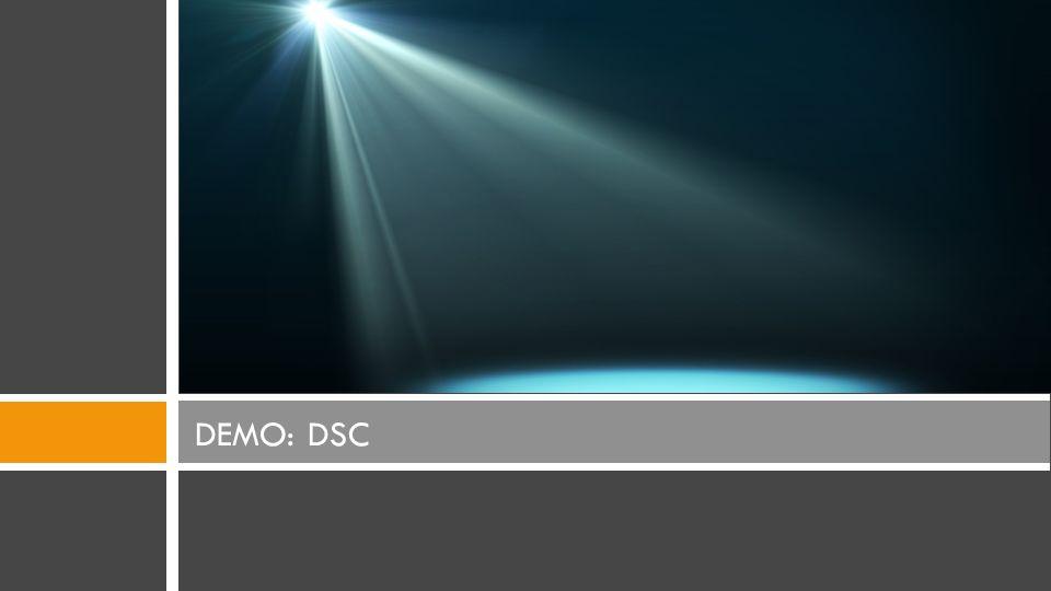 DEMO: DSC