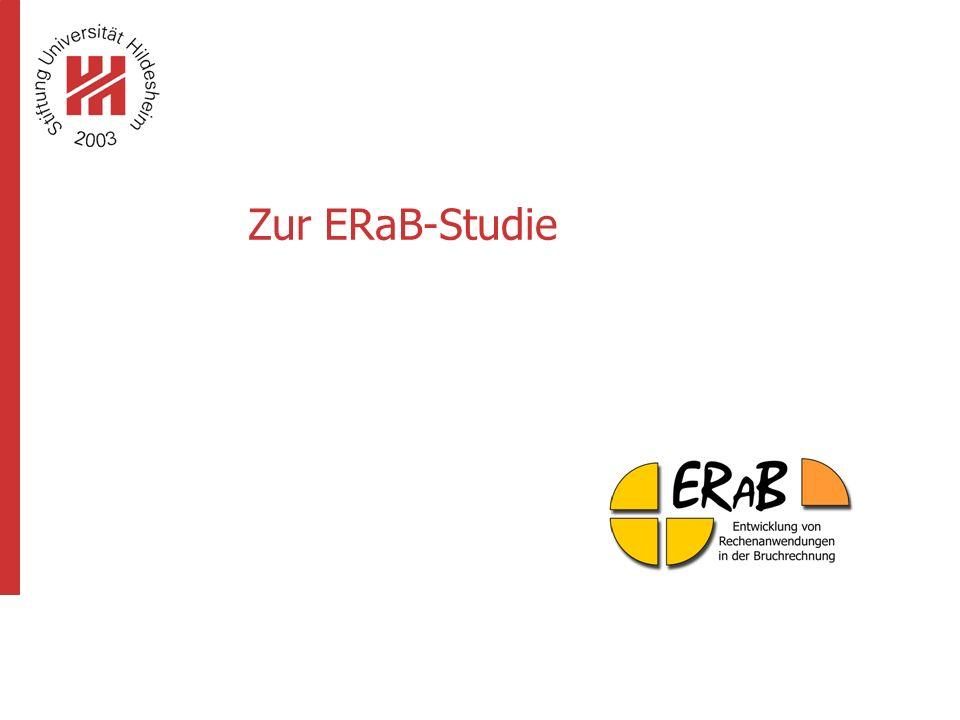 """www.erab.de 4 Eckdaten zur Studie """"ERaB  Leitfrage: Wie entwickeln sich Rechenstrategien im Laufe der Schulzeit?"""