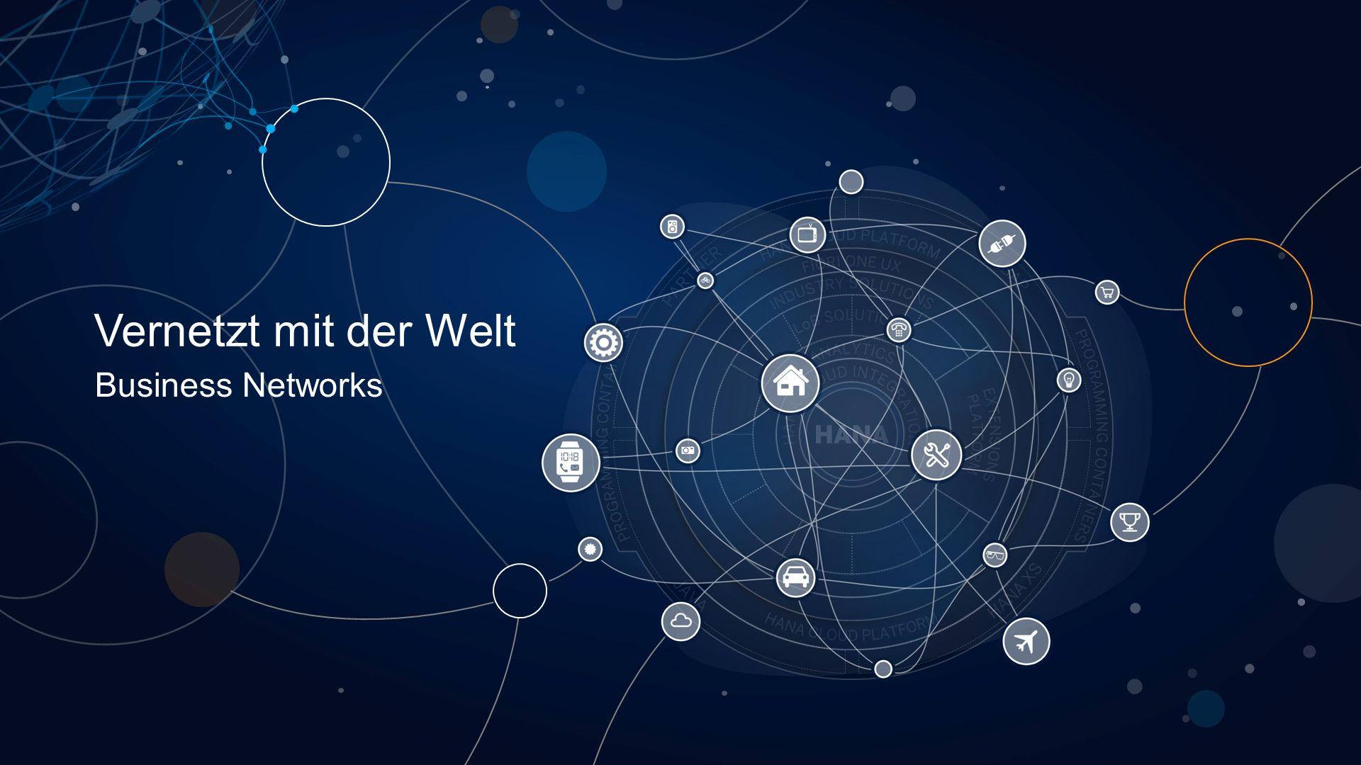 Vernetzt mit der Welt Business Networks