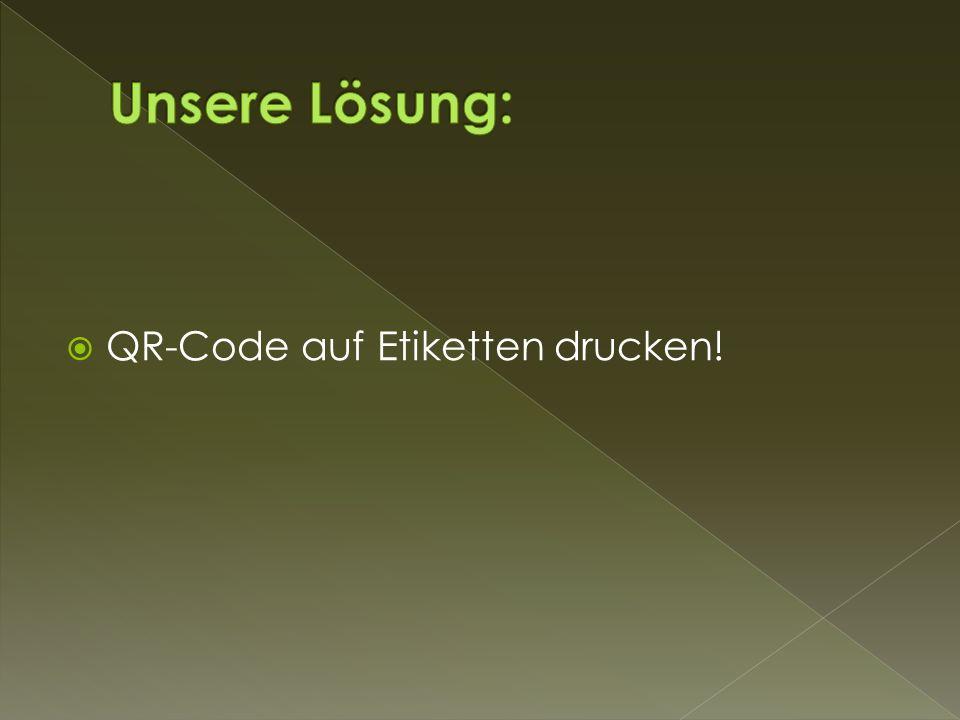  QR-Code auf Etiketten drucken!
