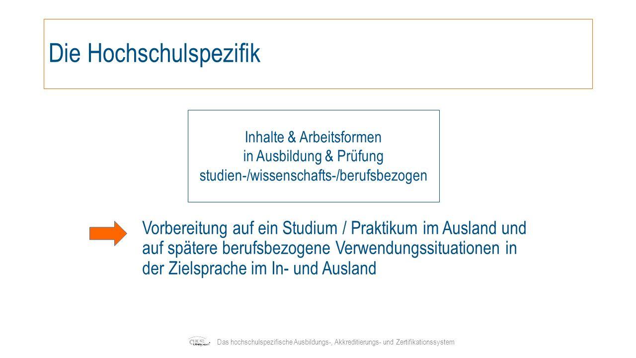 Klare Ausbildungsstruktur Die UNIcert ® -Stufen orientieren sich am Gemeinsamen europäischen Referenzrahmen für Sprachen des Europarats (GeR) und reichen vom Nullanfänger bis hin zum sprachlich kompetenten Akademiker Das hochschulspezifische Ausbildungs-, Akkreditierungs- und Zertifikationssystem