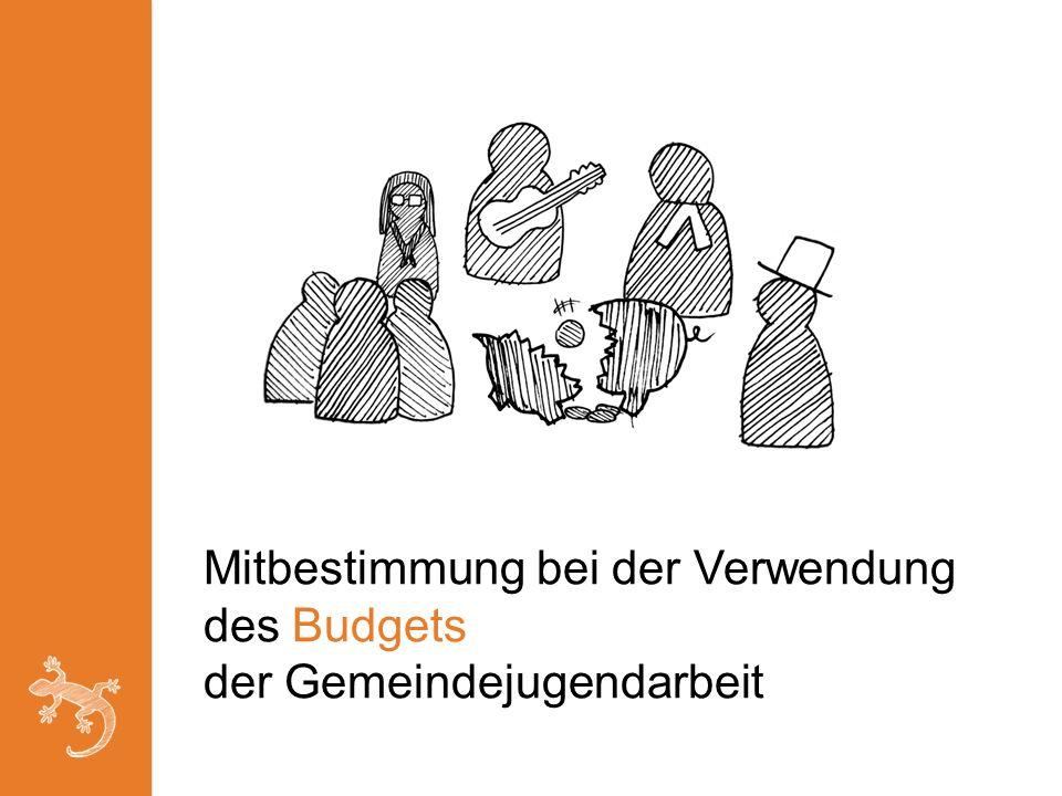 Mitbestimmung bei der Verwendung des Budgets der Gemeindejugendarbeit