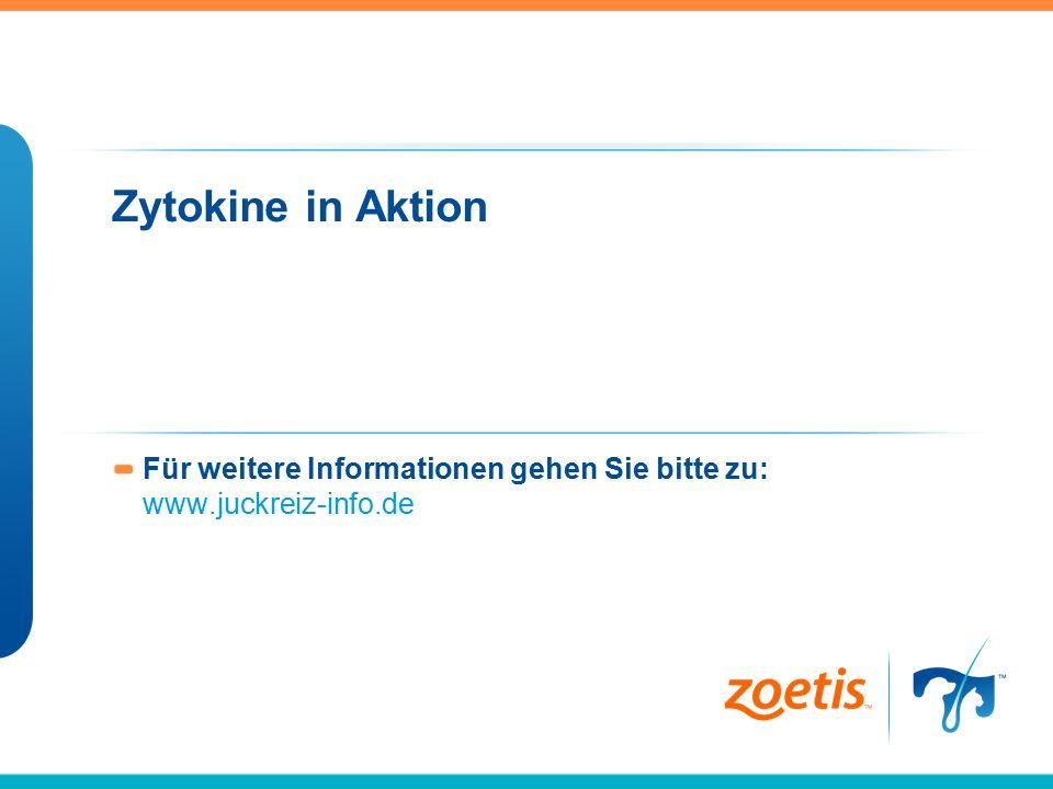 Zytokine in Aktion Für weitere Informationen gehen Sie bitte zu: www.juckreiz-info.de