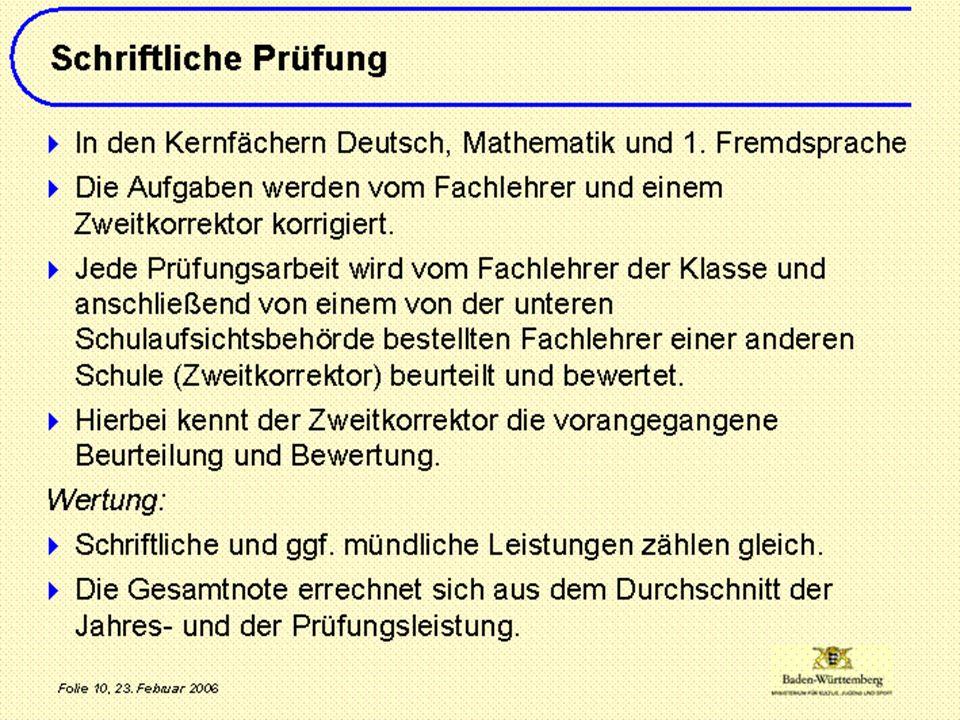 Wichtige Termine im zehnten Schuljahr 30.11.– 04.12.15 Eurokom-Prüfung 01.Feb.