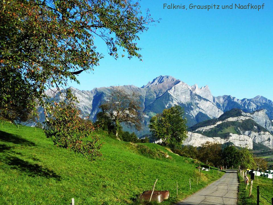 Falknis, Grauspitz und Naafkopf