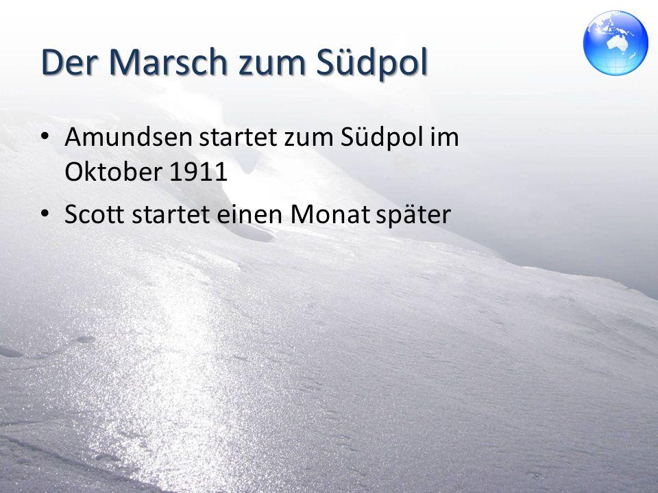Der Erfolg des Roald Amundsen Ausrüstung – Schiff: Fram – 97 Schlittenhunde – Bauteile für eine Hütte – Proviant für 2 Jahre Aufbruch am 20.