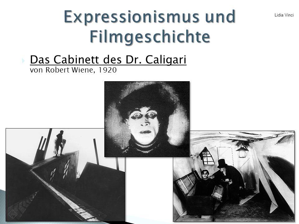  Das Cabinett des Dr. Caligari von Robert Wiene, 1920 Lidia Vinci